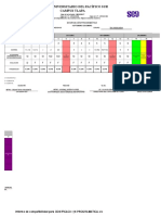 Formato de Dosificacion Programatica Modelos de Evaluacion Psicopedagogica