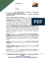 Acuerdo y Poder Leidy Sanchez - Franky Cuervo