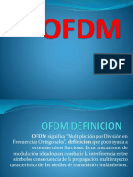 Ofdm multiplexacion