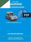 Car Driving Manual