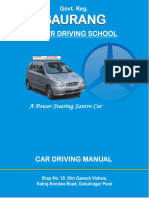 Car Driving Manual