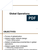 14. Global Operations