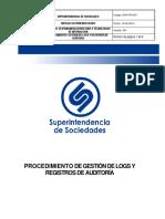 GINT-PR-007 Gestion de Logs y Registros de Auditoria