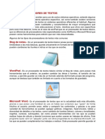 Tipos de Procesadores de Texto1