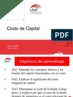 Cap 9 Costo de Capital Junio 2016