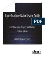 3 Paper Machine Water Systems Scott Romenesko Kadant