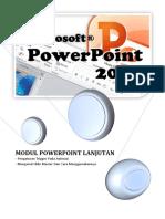 Modul Powerpoint Lanjutan