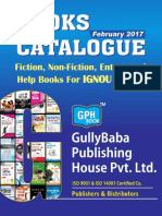 Gph Gully Baba Books Catalogue