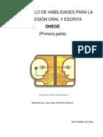 Manual de Expresión Oral y Escrita