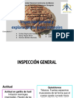 Inspección General y Exploración Pares Craneales