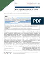 Review - Albumin - Specific antioxidant properties of human serum.pdf