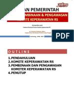 KD Peran Pemerintah - Binwas Komite