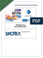 RxO Updated RFP Response Final