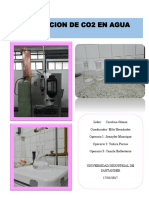 Absorcion de Co2 en Agua - Grupo 3