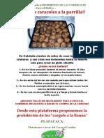 Defensa Del Caracol Catalán