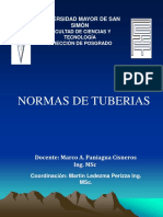 Normas de Tuberias v2 2016