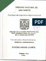 Análisis de La Cadena ...