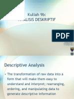 Analisis Deskriptif