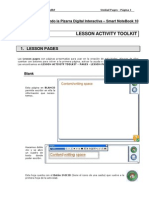 Tutorial Lesson Activity Toolkit - Lesson Pages