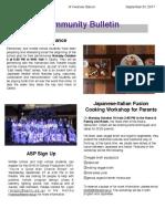 OIS Community Bulletin