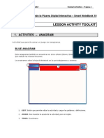 Tutorial Lesson Activity Toolkit - Activities