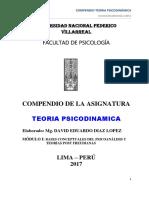 Compendio Teoria Psicodinamica - 2017-2-1er Modulo