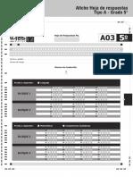 Afiche hoja de respuesta Tipo A Grado 5 2015.pdf