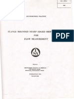 ISA RP3.2-1960  Flange mounted sharp edged orifice plate for flow measurement.pdf