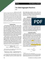 Saouma and Perotti - Constitutive Model for AAR