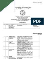 CatedraLegislacion - Cronograma Segundo Cuatrimestre 2017 - Alfie