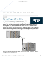 PLC Input_Output (I_O) Capabilities