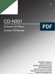 CD-N301 Manual de Utilizare