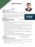 CV M. Naveed ANjum