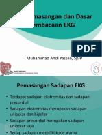 Cara Pemasangan Dan Dasar Pembacaan EKG
