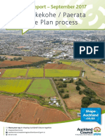Pukekohe Paerata Structure Plan Process