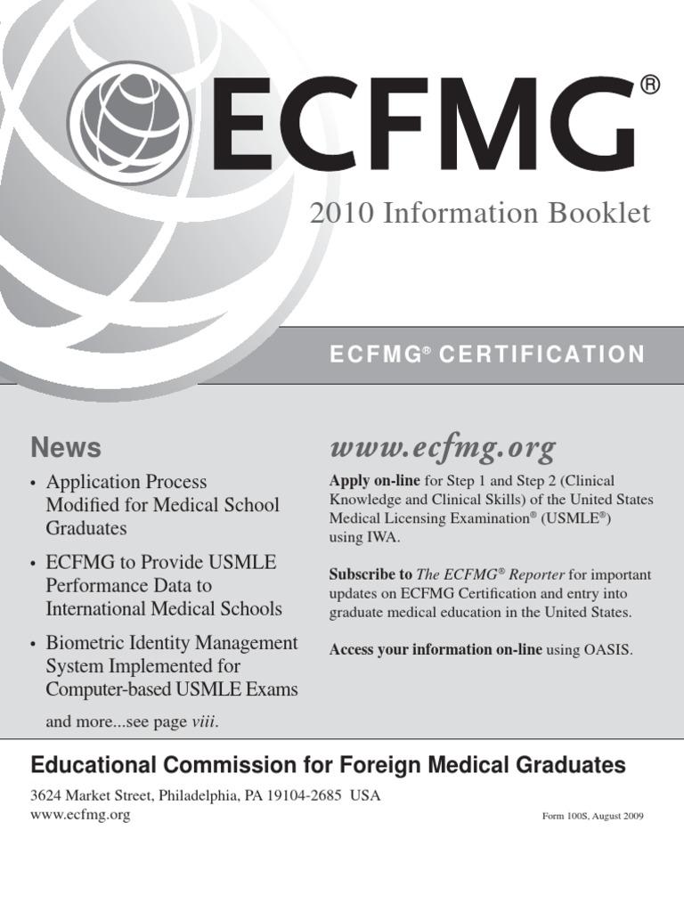 Ecfmg united states medical licensing examination medical school 1betcityfo Images