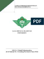 Laporan Pelaksaan Program Kemanusiaan.docx