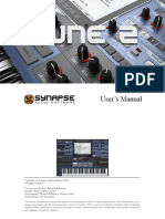 DUNE 2 VST User´s Manual