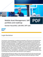 2611 Mobile Asset Management SAPs Solution Portfolio and Roadmap