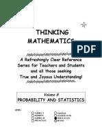Probability and Statistics (Tanton)