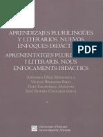 Aprendizajes Plurilingues y Literarios