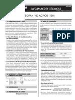 Datasheet Neopan100acros