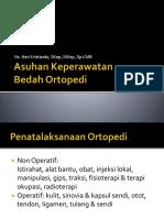 3. Asuhan Keperawatan Bedah Ortopedi