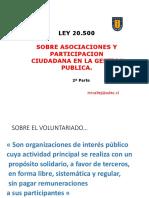 Ley 20.500 Parte 2 Profesor