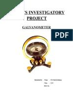 PhysicsGALVANOMETER.doc