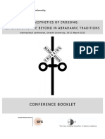 Aesthetics of Crossign_Programme Booklet