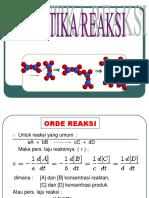 3. Kinetika Reaksi II