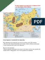 CEI. Abundancia de Recursos Naturales y Formacion de Las Grandes Industrias