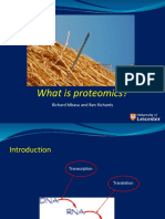 Proteomics - Mbasu and Richards - 25-02-15