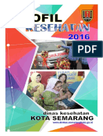 Profil Kesehatan Kota Semarang 2016